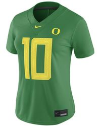Nike College Dri-fit Game (oregon) Football Jersey - Green
