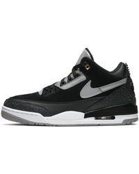 Nike Air Jordan 3 Retro Tinker schuh - Schwarz