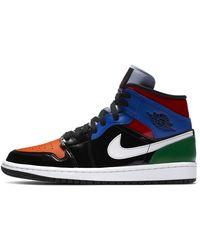 Nike Air Jordan 1 Mid SE Zapatillas - Negro