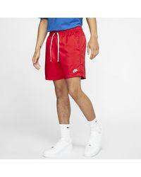 Nike Sportswear Webshorts - Rot
