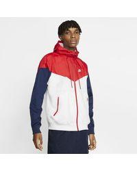 Nike Sportswear Windrunner Hooded Windbreaker - White