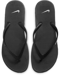 Nike Solarsoft II -Flip-Flops - Schwarz