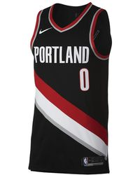 Nike - Damian Lillard Icon Edition Authentic Jersey (portland Trail  Blazers) Men s Nba Connected 2af0ab5d24d