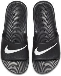 db76cf9e8 Men's Nike Leather sandals Online Sale - Lyst