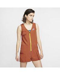 Nike Sportswear Icon Clash -Romper - Orange