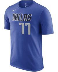 Nike Mavericks NBA-T-Shirt - Blau