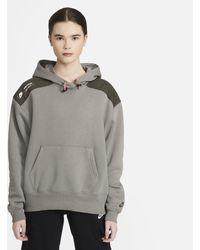 Nike Felpa pullover in fleece con cappuccio Sportswear - Verde