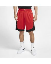 Nike Houston Rockets Icon Edition Swingman Nba Shorts - Red