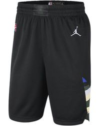 Nike - Shorts Bucks Statement Edition 2020 Swingman Jordan NBA - Lyst