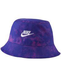 Nike Bob tie-dye Sportswear - Bleu