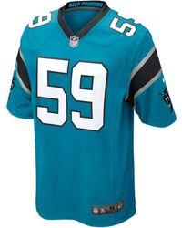 c49f69c53 Nike - Nfl Carolina Panthers (luke Kuechly) Game Football Jersey - Lyst