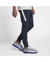 Nike Pantaloni jogger Sportswear Tech Fleece - Blu