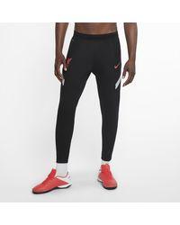 Nike - Pantaloni da calcio Liverpool FC VaporKnit Strike - Lyst