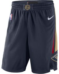 Nike - Short NBA New Orleans Pelicans Icon Edition Swingman pour Homme - Lyst
