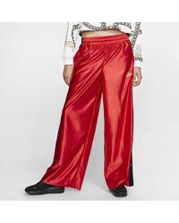 Nike Sportswear Icon Clash Womens Popper Pants - Red