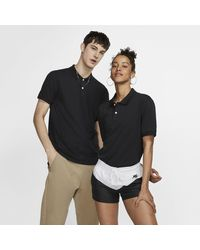 Nike The Polo (without Orange Collar Label) Slim-fit Polo - Black