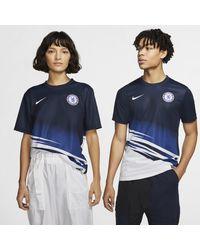 Nike Maglia da calcio a manica corta Chelsea FC - Blu
