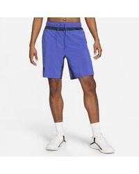 Nike Shorts da training con grafica Flex - Blu