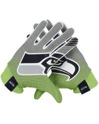 Nike | Stadium (nfl Seahawks) Football Gloves | Lyst