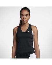 Nike Court Dri-fit Maria Slam Sleeveless Tennis Top - Black