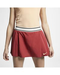 Nike Court Flex Maria Victory Tennis Skirt - Red