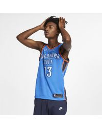 Nike - Paul George Icon Edition Swingman (Oklahoma City Thunder) NBA Connected Trikot für - Lyst