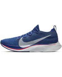 Nike Zoom VaporFly 4% Flyknit Fast - Azul