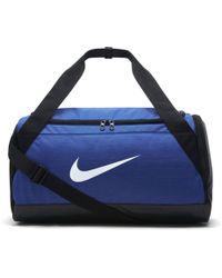Nike Brasilia Trainingstasche (Klein) - Blau