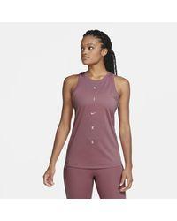 Nike Canotta da training Dri-FIT Get Fit - Rosa
