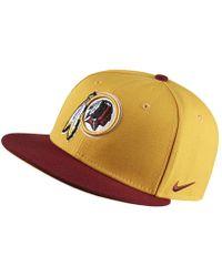 Nike - Everyday True (nfl Redskins) Adjustable Hat (orange) - Lyst