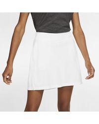 Nike Dri-fit Victory Women's Golf Skirt - White