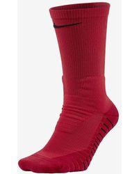 Nike - Vapor Crew Football Socks (university Red) - Lyst
