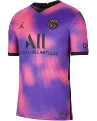 Nike Maglia da calcio Paris Saint-Germain 2020/21 Stadium da uomo - Rosa