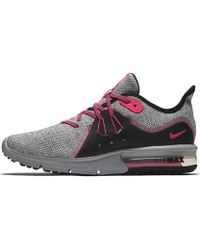 3736c1454bb2 Lyst - Nike Air Max Sequent 3 Women s Running Shoe in White
