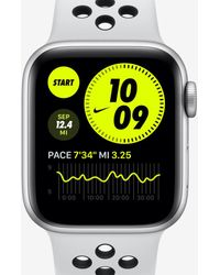 Nike Apple Watch Series 6 With Sport Band 40mm Aluminum Case - Metallic