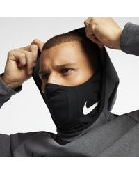 Nike Scaldacollo da calcio Squad - Nero