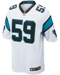 4f358092a Nike - Nfl Carolina Panthers (luke Kuechly) Men's Football Game Jersey -  Lyst
