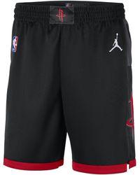 Nike - Shorts Rockets Statement Edition 2020 Swingman Jordan NBA - Lyst