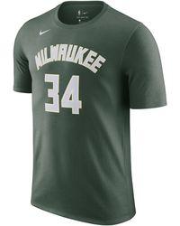 Nike Giannis Antetokounmpo Bucks NBA-T-Shirt - Grün