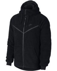 Nike - Sweatà capuche en Sherpa Sportswear Windrunner Tech Fleece pour Homme - Lyst