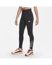 Nike - Leggings a vita alta Sportswear Club - Lyst
