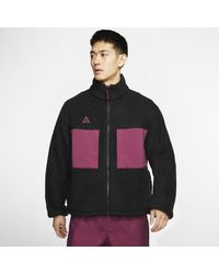 Nike Acg Fleece Jacket - Black