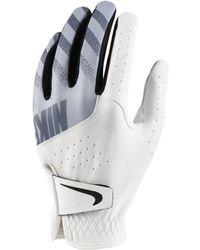 Nike Sport Golfhandschuh (Links regulär) - Weiß