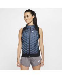 Nike Aeroloft Running Vest - Blue