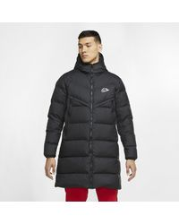 Nike Sportswear Down-Fill Windrunner Shield-Parka für - Schwarz