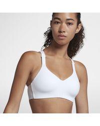 Nike Bra a sostegno elevato Rival - Bianco