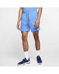 Nike Shorts da running 2-in-1 18 cm Flex Stride - Blu