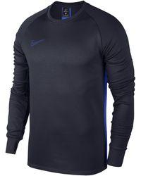 Nike - Therma Academy Long-sleeve Football Top - Lyst