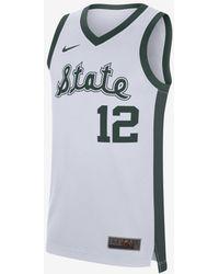 Nike College Replica Retro Basketball Jersey - White