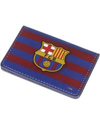 Nike Fc Barcelona Card Case - Blue